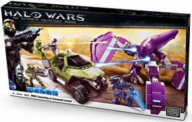 Halo Wars Mega Bloks Set #96823 UNSC Gausshog Vs. Covenant Locust