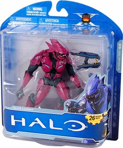 Halo McFarlane Toys 10th Anniversary Series 1 ADVANCE Exclusive Action Figure MAROON Elite Combat