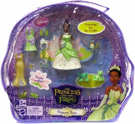 Disney The Princess and the Frog Tiana Set in Vinyl Bag [Features Ray the Firefly]