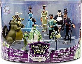 Disney The Princess and the Frog Exclusive 11 Piece PVC Mini Figurine Collector Set #1