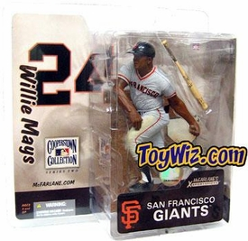 McFarlane Toys MLB Cooperstown Series 2 Action Figure Willie Mays (San Francisco Giants)