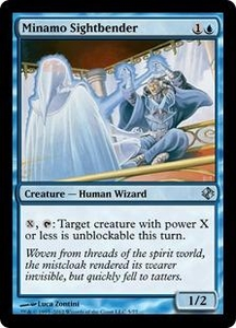 Magic the Gathering Duel Decks: Venser vs. Koth Single Card Blue Uncommon #5 Minamo Sightbender