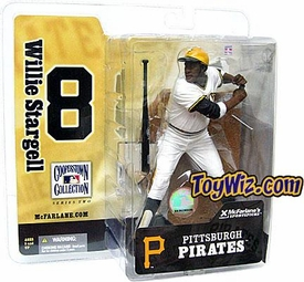 McFarlane Toys MLB Cooperstown Series 2 Action Figure Willie Stargell (Pittsburgh Pirates) White Jersey Variant