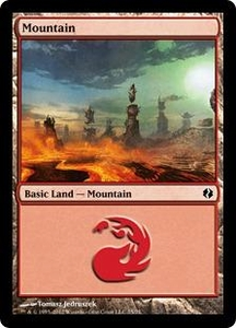 Magic the Gathering Duel Decks: Venser vs. Koth Single Card Land Land #74 Mountain