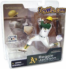 McFarlane Toys MLB Cooperstown Series 1 Action Figure Reggie Jackson (Oakland Athletics) Retro A's Variant