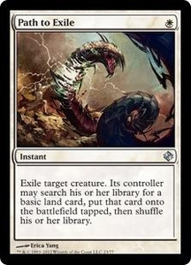 Magic the Gathering Duel Decks: Venser vs. Koth Single Card White Uncommon #23 Path to Exile