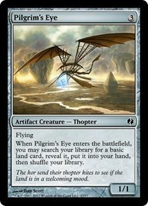 Magic the Gathering Duel Decks: Venser vs. Koth Single Card Artifact Common #47 Pilgrim's Eye