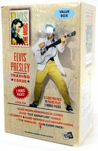 Elvis Presley The Music Trading Cards 2007 Value Blaster Box