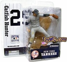 McFarlane Toys MLB Cooperstown Series 2 Action Figure Jim Catfish Hunter (New York Yankees) NY Yankees Variant