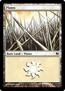 Magic the Gathering Duel Decks: Venser vs. Koth Single Card Land Land #38 Plains