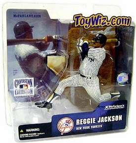 McFarlane Toys MLB Cooperstown Series 1 Action Figure Reggie Jackson (New York Yankees) White Uniform
