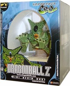 Dragon Ball Z Palisades Toys Mini Resin Bust Imperfect Cell