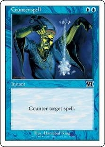Magic the Gathering Starter 2000 Single Card Common Counterspell