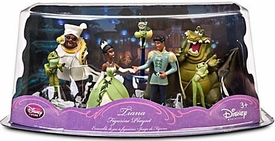 Disney The Princess and the Frog Exclusive 7 Piece PVC Mini Figurine Collector Set #2