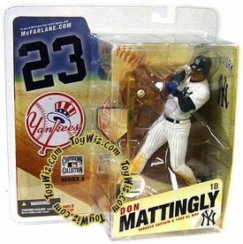 McFarlane Toys MLB Cooperstown Series 3 Action Figure Don Mattingly (New York Yankees)