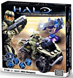 Halo Wars Mega Bloks Set #96849 UNSC Mongoose