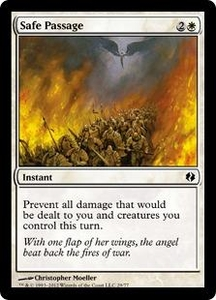 Magic the Gathering Duel Decks: Venser vs. Koth Single Card White Common #29 Safe Passage