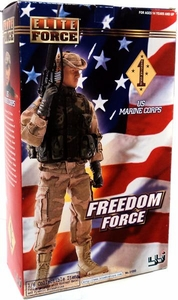 Elite Force Freedom Force 1/6 Collectible Action Figure Persian Gulf US Marine Corps