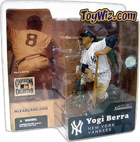 McFarlane Toys MLB Cooperstown Series 1 Action Figure Yogi Berra (New York Yankees) Shiny Hat