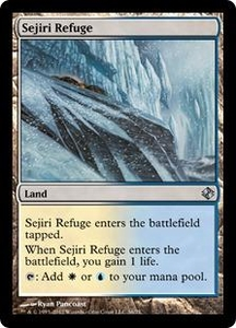 Magic the Gathering Duel Decks: Venser vs. Koth Single Card Land Uncommon #36 Sejiri Refuge