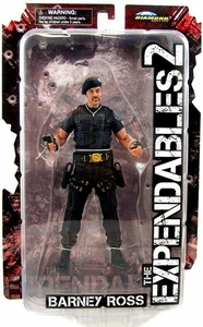 Expendables 2 Diamond Select 7 Inch Action Figure Barney Ross [with Beret]