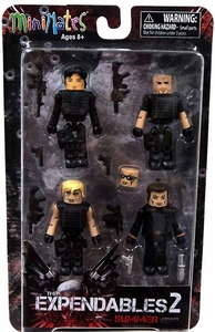 Expendables 2 Summer Minimates 4-Pack Box Set