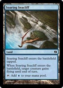 Magic the Gathering Duel Decks: Venser vs. Koth Single Card Land Common #37 Soaring Seacliff