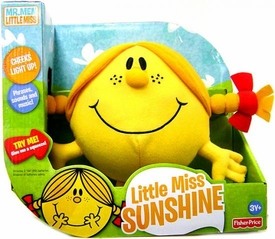 Fisher Price Mr. Men Little Miss Talking Plush Little Miss Sunshine