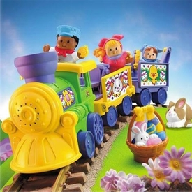 Fisher-Price Little People Easter Train Set