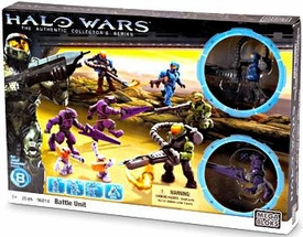 Halo Wars Mega Bloks Exclusive Set #96814 Battle Unit [8 Mini Figures!]