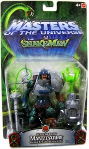 He-Man Masters of the Universe VS. The Snakemen Action Figure Serpent Claw Man-At-Arms