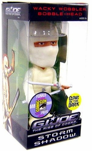 Funko GI Joe Movie Rise of Cobra SDCC 2009 Exclusive Wacky Wobbler Bobble Head Storm Shadow