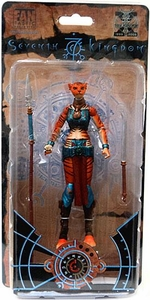 Four Horsemen The Seventh Kingdom Exclusive Action Figure D'Zwirra [Red Tiger]