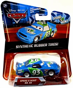Disney / Pixar CARS Movie Exclusive 1:55 Die Cast Car with Synthetic Rubber Tires Spare O Mint
