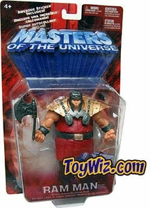 He-Man Masters of the Universe Action Figure Ram Man Variant