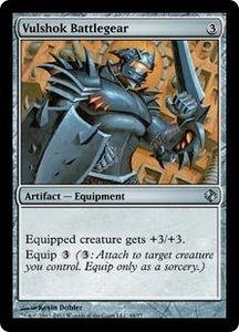 Magic the Gathering Duel Decks: Venser vs. Koth Single Card Artifact Uncommon #68 Vulshok Battlegear