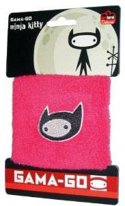 Gama-Go Pink Ninja Kitty Wrist Band