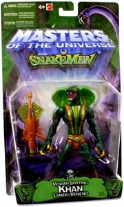 He-Man Masters of the Universe VS. The Snakemen Action Figure Venom Spitting Khan