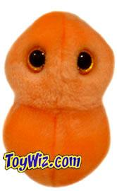 GIANT Microbes Plush Doll Health Microbe Ear Ache (S. Pneumonia)