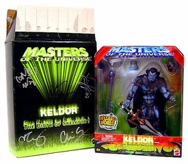 He-Man Masters of the Universe Wizard World Exclusive Action Figure Keldor [Signed by the Four Horseman] Box is Not Sealed!