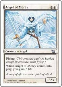 Magic the Gathering Eighth Edition Single Card Uncommon #1 Angel of Mercy