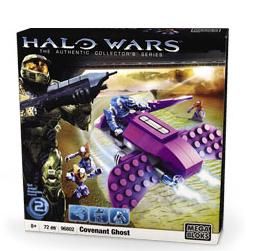 Halo Wars Mega Bloks Set #96802 Covenant Ghost [Battle Pack]