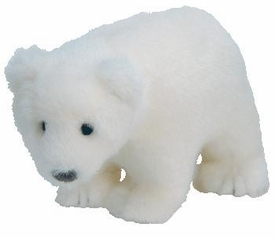 Ty Beanie Baby WWF Store Exclusive Icepack the Polar Bear