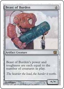 Magic the Gathering Eighth Edition Single Card Rare #292 Beast of Burden