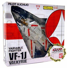 Robotech Macross Bandai 1/55 Scale Transformable VF-1J Valkyrie [Ichijo]