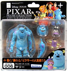 Monsters Inc. Revoltech Pixar Figure Collection #006 James P. Sullivan