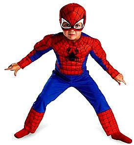 Disguise Costume Spider-Man #50122 Toddler Muscle [Child]