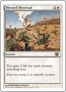 Magic the Gathering Eighth Edition Single Card Rare #7 Blessed Reversal