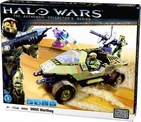 Halo Wars Mega Bloks Set #96805 UNSC Warthog [GREEN Version]