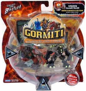 Gormiti Series 1 Mini Figure 2-Pack Wise Destroyer & Hideoutfinder